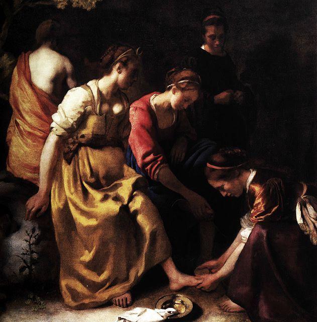 1655: Johannes Vermeer,Diane et ses compagnes, ouDiane et ses nymphes