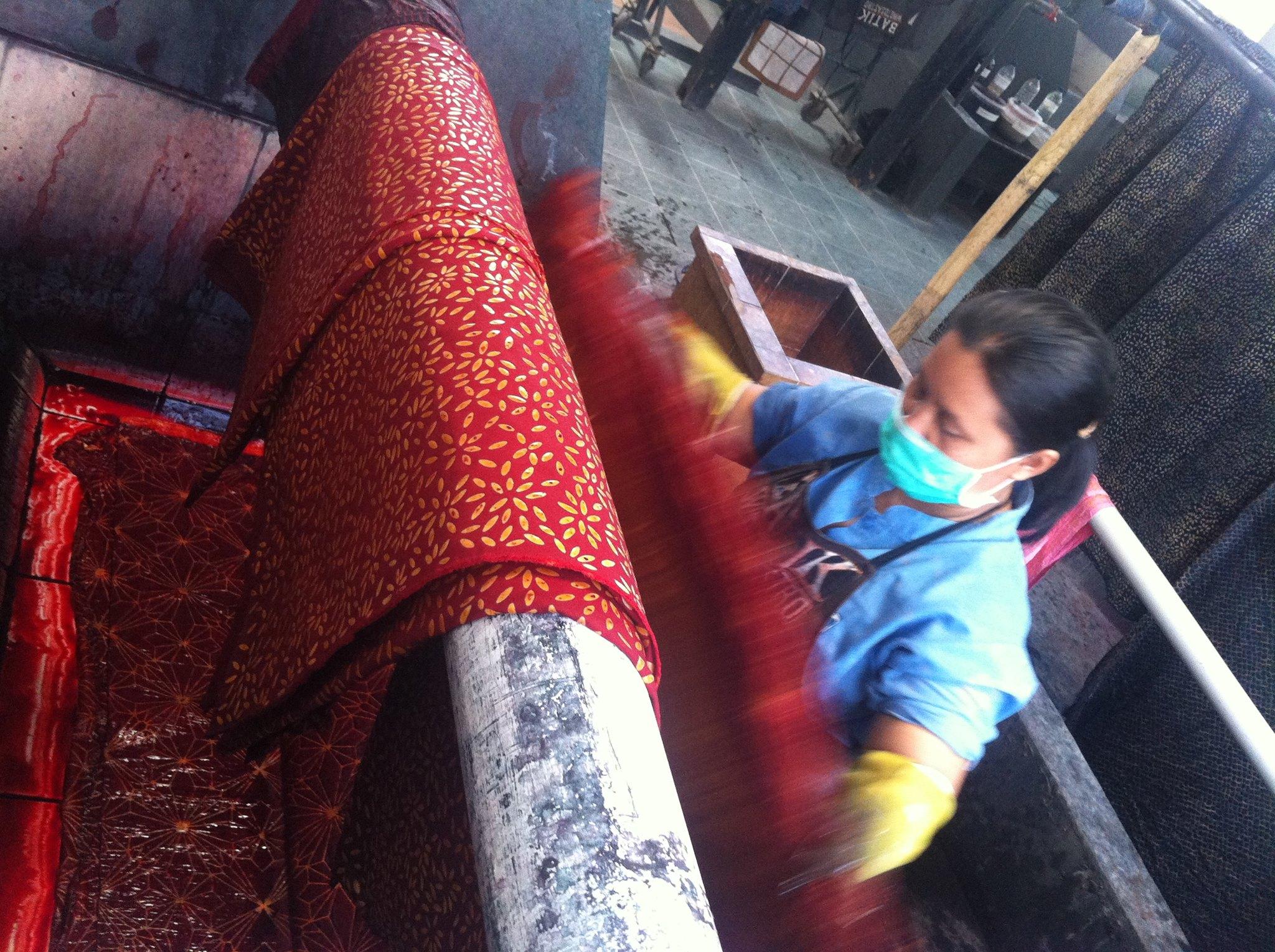 Réincarnation du rideau de Sangam House