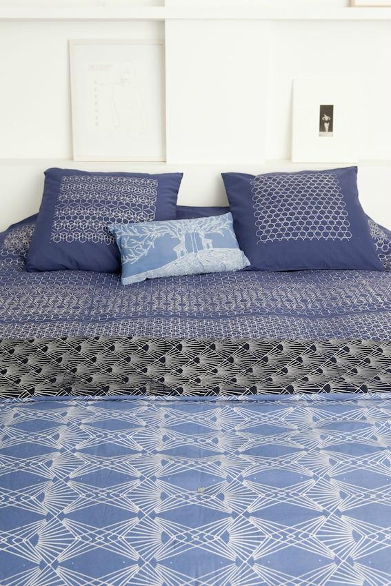 coussin 70x70 Marie Labarelle | Housses de coussins en batik 70 x 70 cm coussin 70x70