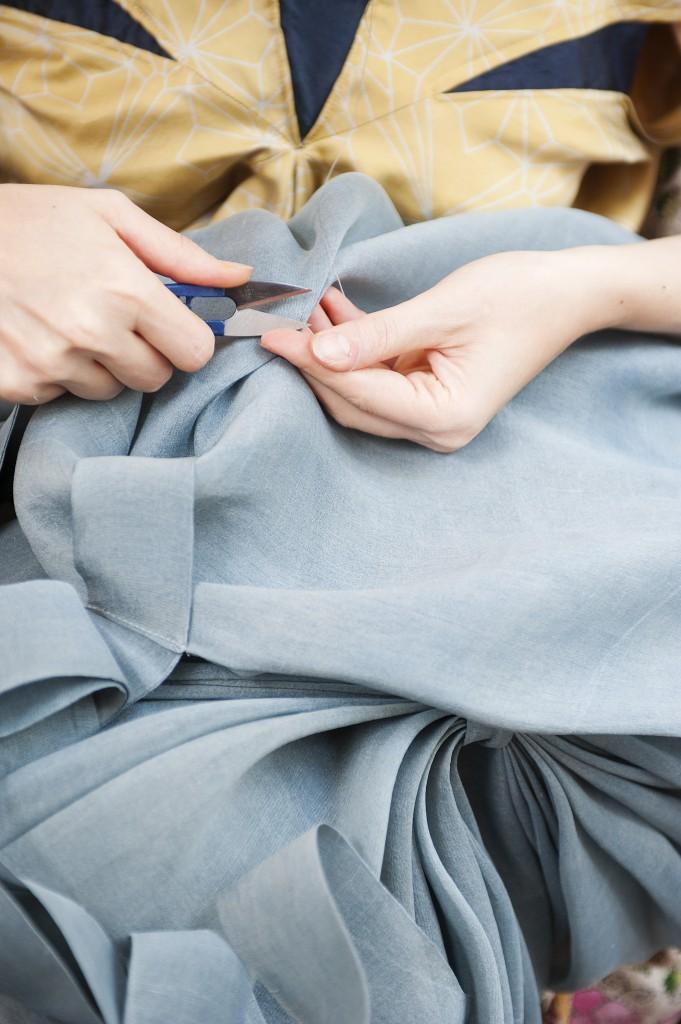 Marie Labarelle - Atelier - Points de couture à la main