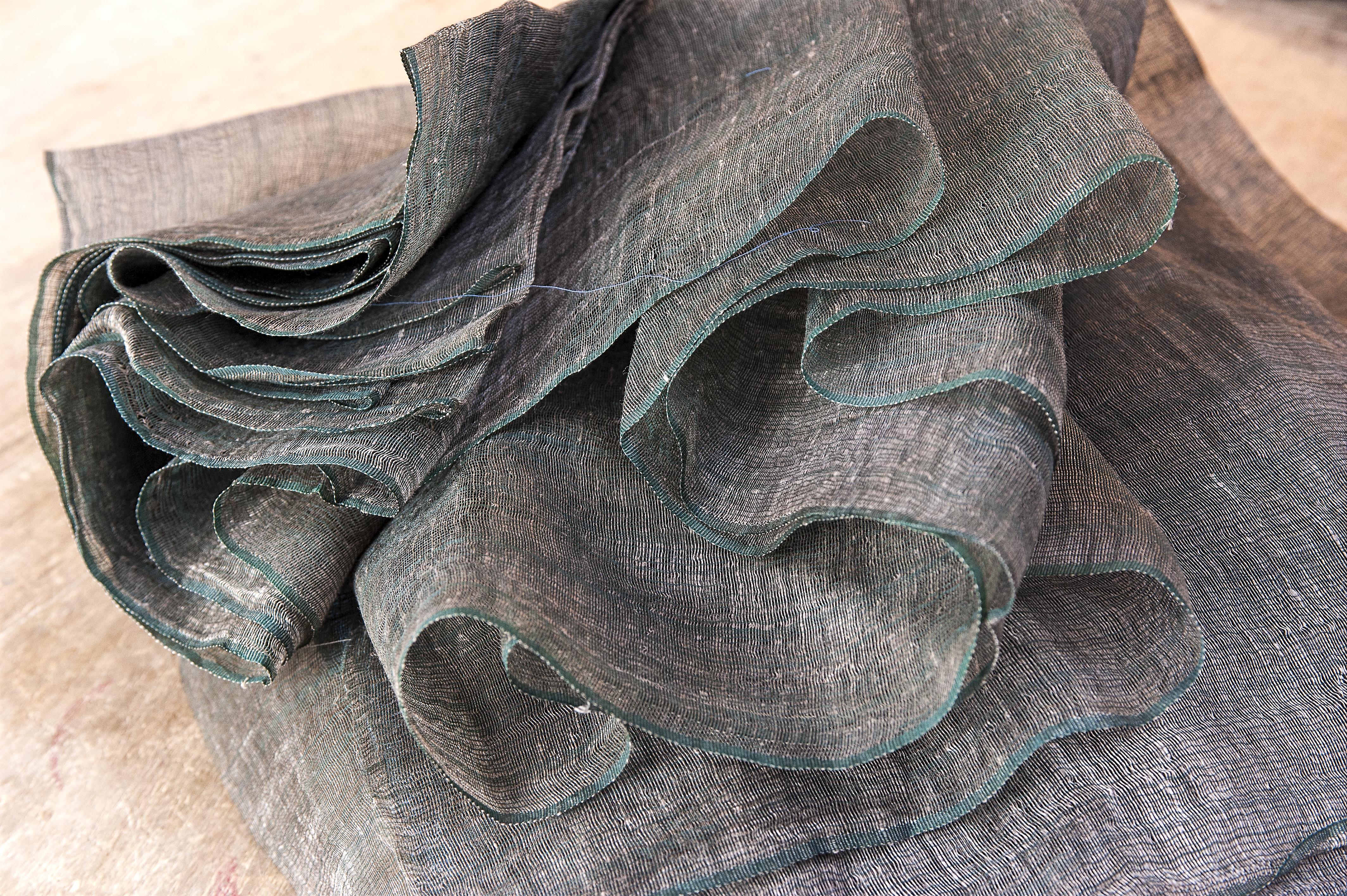Marie Labarelle - Atelier - Textile en soie déniché à Seoul (Corée)