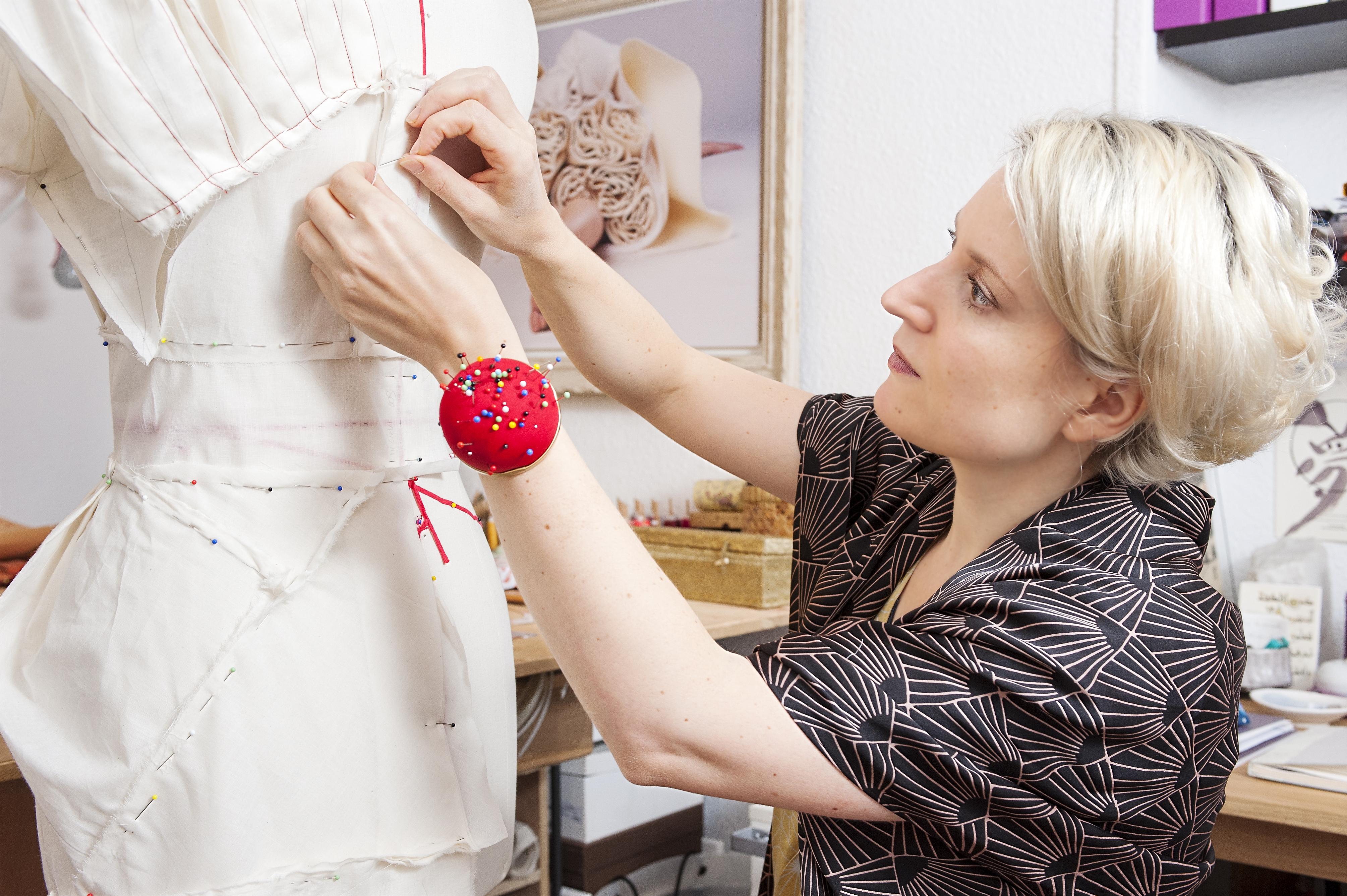 Marie Labarelle - Atelier - Travail sur le mannequin