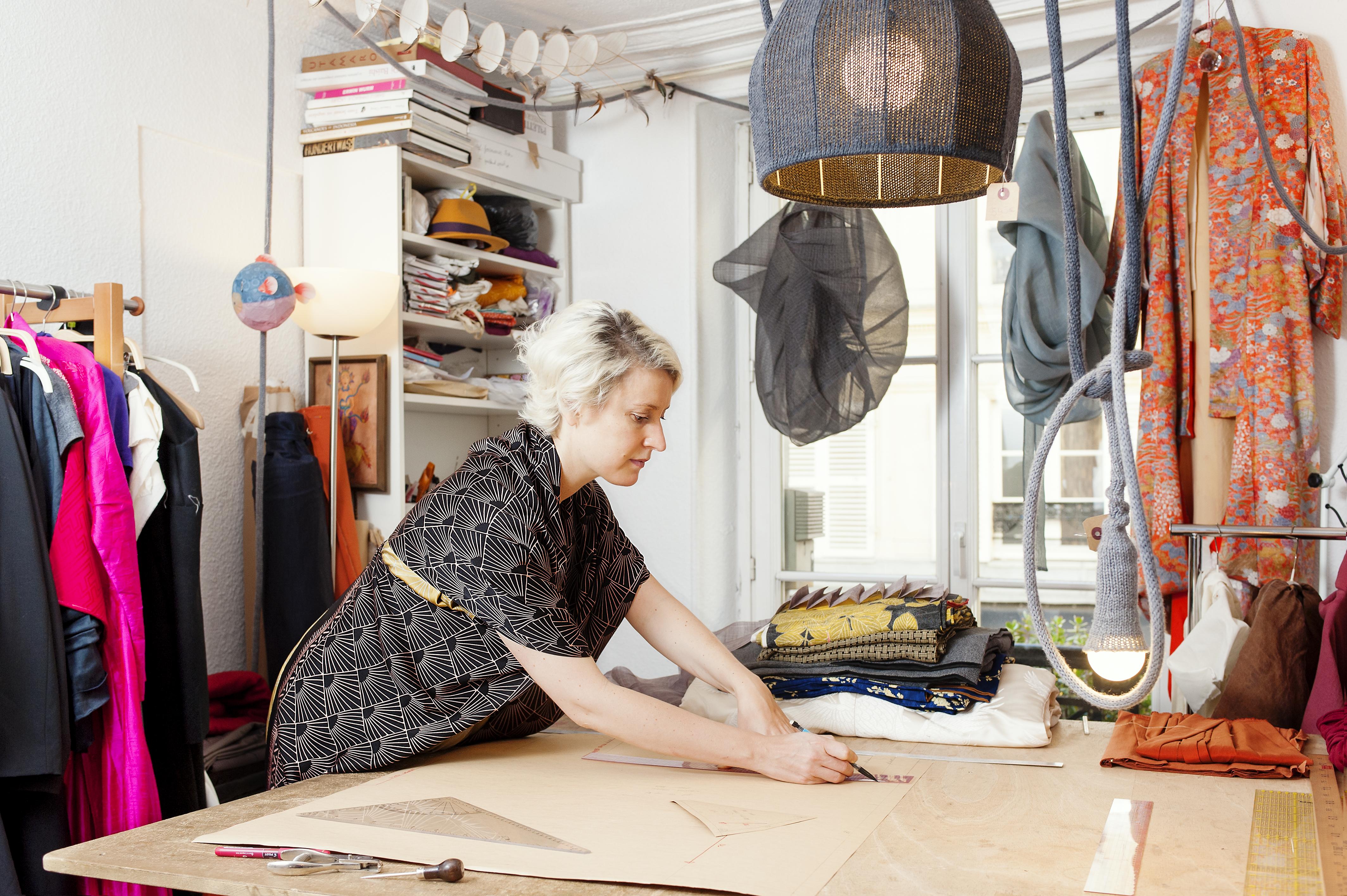 Marie Labarelle - Atelier - Le patronnage